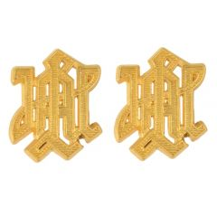 LAH Metal Cyphers for Shoulder Boards - Gold