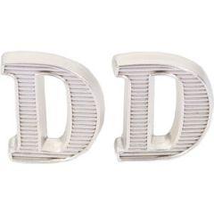 """D """"Deutschland"""" Metal Shoulder Cypher - Silver"""