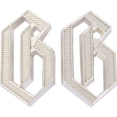 "G ""Germania"" Metal Shoulder Cypher - Silver"
