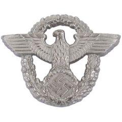 WW2 German Police Officer Cap Badge