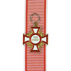 Austrian Military Merit Cross - 3rd Class with War Decoration