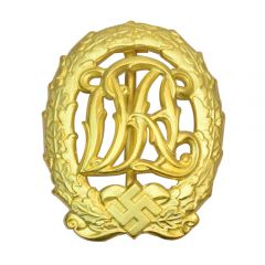 D.R.L. Sports Badge - Gold