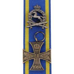 Brunswick War Merit Cross 2nd Class with Frontline Service Clasp