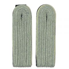 Waffen-SS Junior Infantry Officer Shoulder Boards (White Piped)
