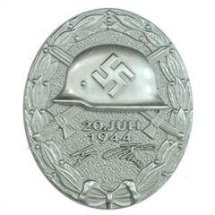 1944 German Wound Badge - Silver