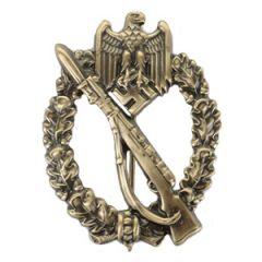German Infantry Assault Badge - Bronze (Hollow-backed)