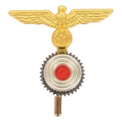 Kriegsmarine Ratings Eagle With Cockade - Matte Gold