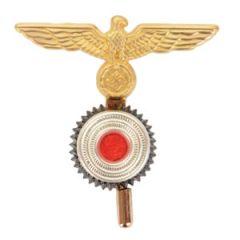 Kriegsmarine Ratings Eagle With Cockade - Brass