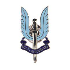 SAS Enamel Badge - Silver