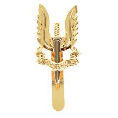 British Army SAS Bi-Metal Cap Badge